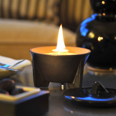 denk keramik schmelzfeuer indoor ceralava mit deckel tischfeuer tischkamin ebay. Black Bedroom Furniture Sets. Home Design Ideas