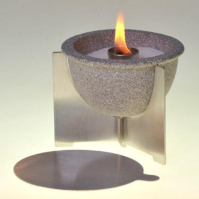 denk keramik schmelzfeuer indoor granicum tischfeuer ebay. Black Bedroom Furniture Sets. Home Design Ideas