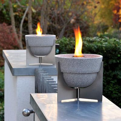 schmelzfeuer granicum l gartenfackel von denk keramik mit deckel. Black Bedroom Furniture Sets. Home Design Ideas