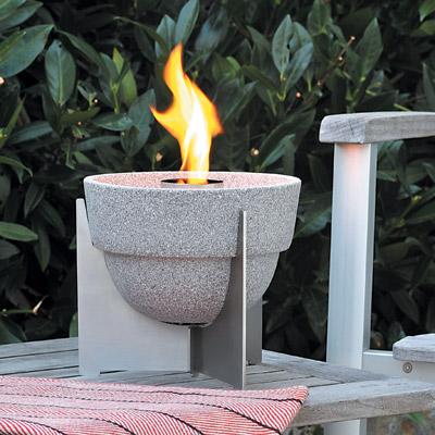 schmelzfeuer granicum l gartenfackel von denk keramik mit deckel ebay. Black Bedroom Furniture Sets. Home Design Ideas